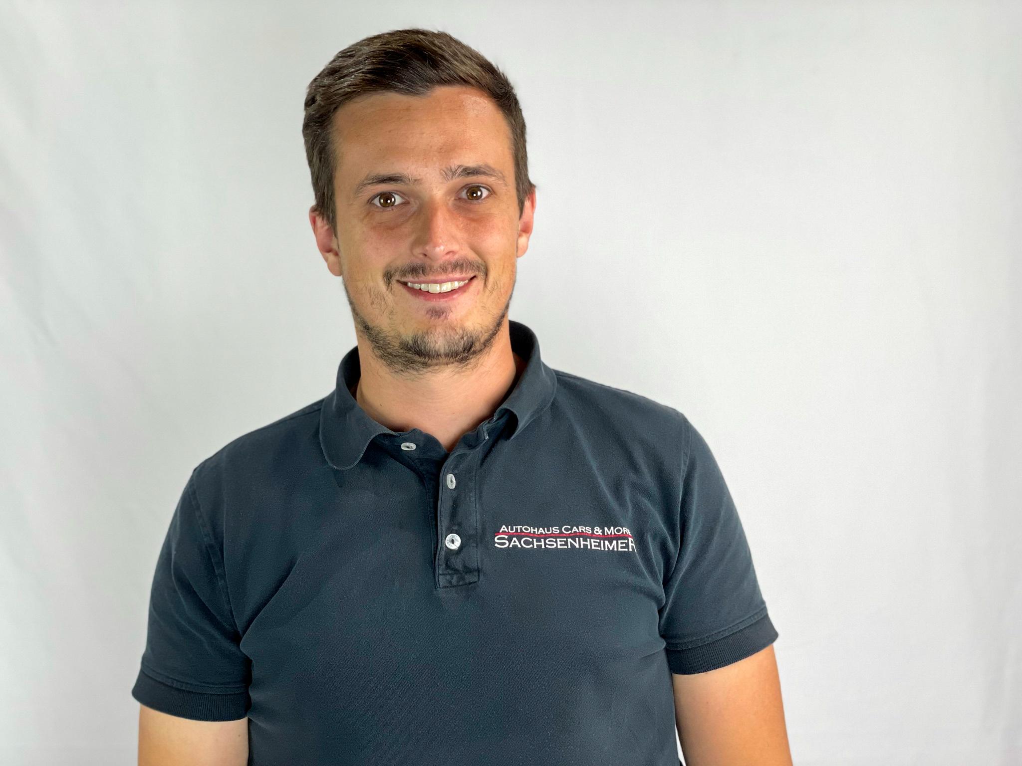 Steven Sachsenheimer Geschäftsführer und Verkäufer von Autohaus Cars & More