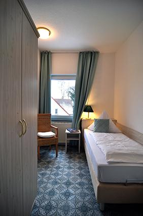 Einzelzimmer im 3-Zimmer App