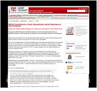 Grafik: Preview Pressemitteilung auf PORTAL DER WIRTSCHAFT für IMEXO Handelskontor GmbH, Bargteheide