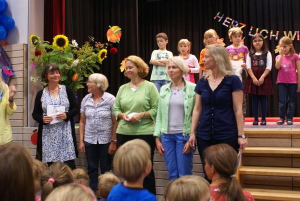 Das sind die Lehrerinnen der Lerngruppen.