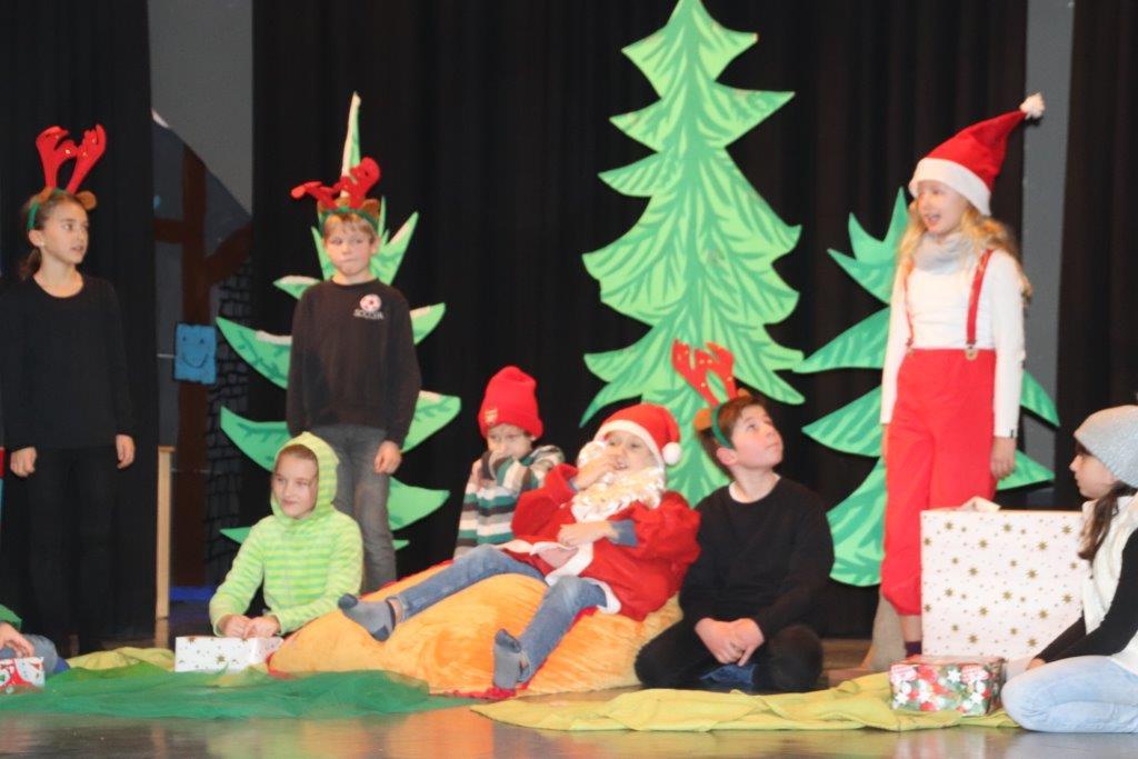Weihnachtsmusical der Klasse 3b