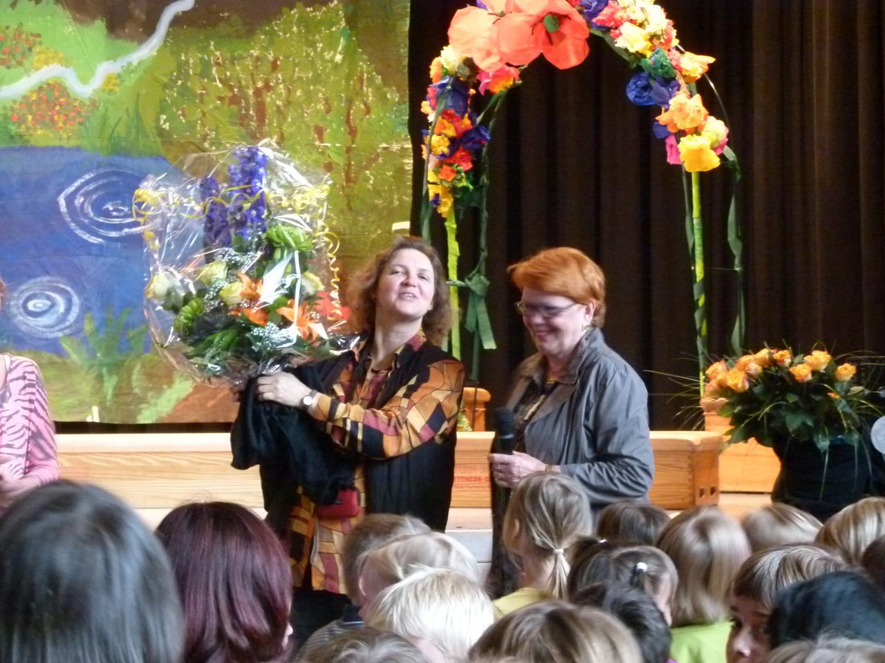 Dankeschön an Frau Karen Seekamp-Schnieder, langjährige Vorsitzende des Förderverins