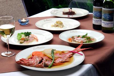 「La Nova」金目鯛づくしのディナー(要予約)