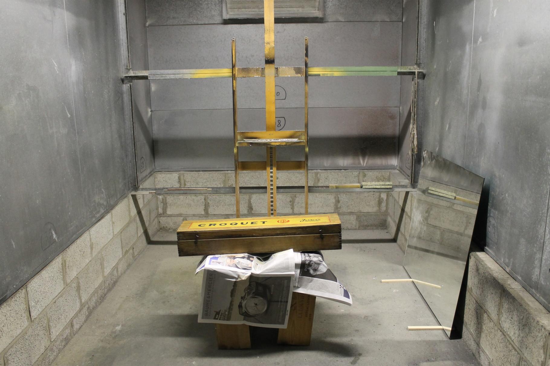 14- Préparation de la boite avant pistolage de vernis