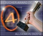 Besucher Award 4. Platz