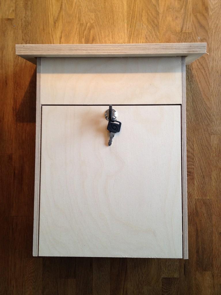 holzbriefk sten zum selbst bemalen alles aus holz. Black Bedroom Furniture Sets. Home Design Ideas