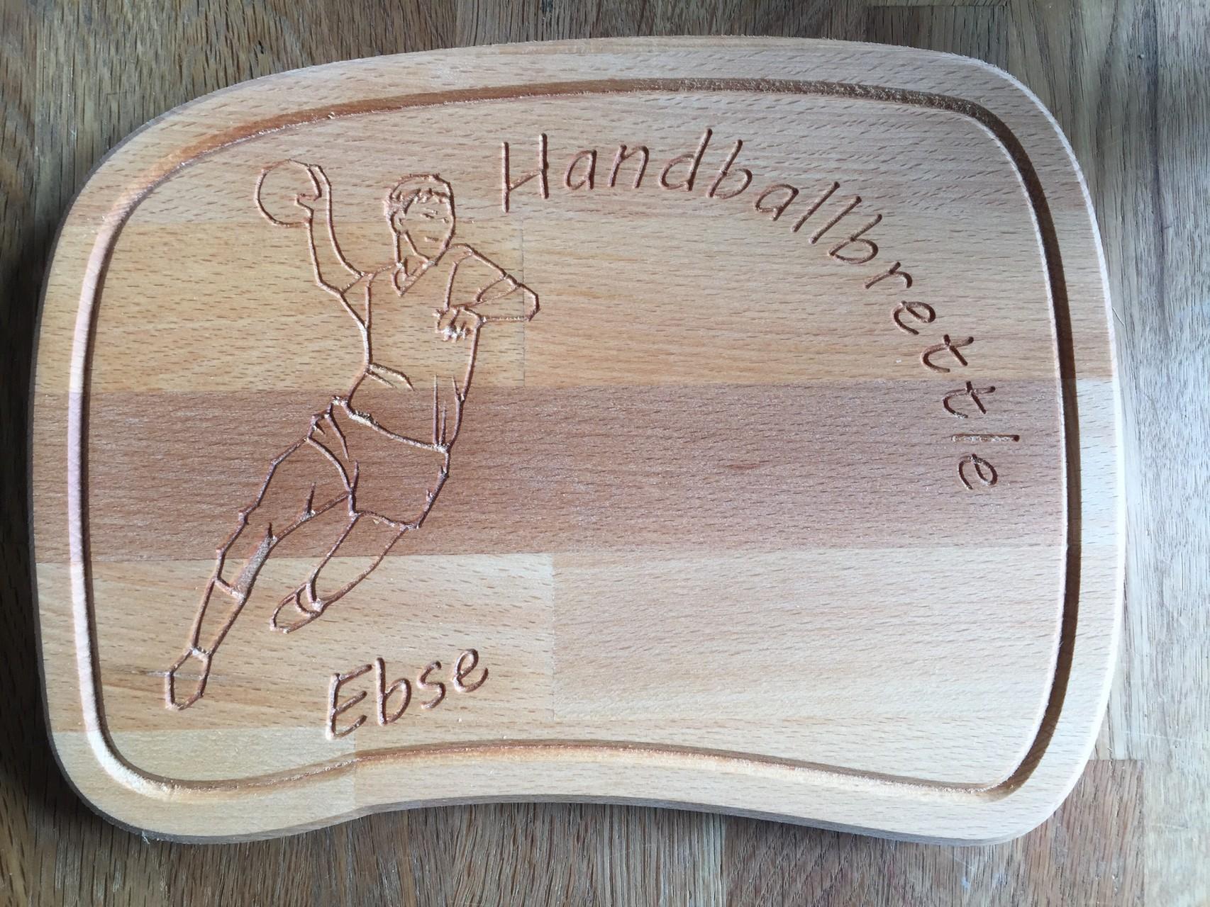 Brotzeitbrett Handballer