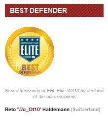 Reto Haldemann (Bester Verteidiger)