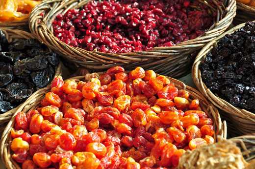 Getrocknete Baumtomaten, Cranberry