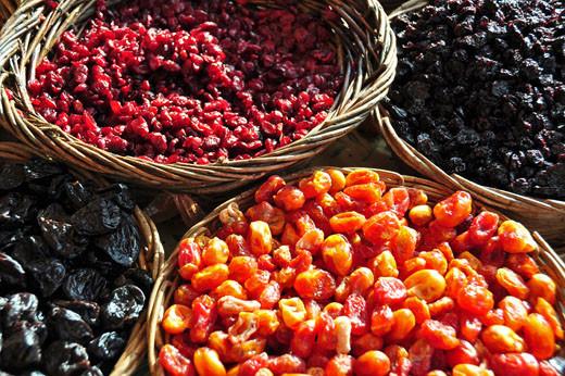 Getrocknete Cranberry, Baumtomaten