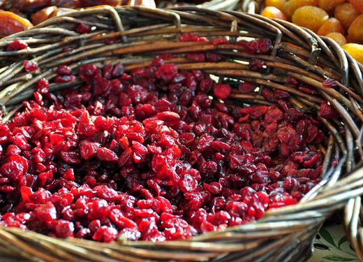 Getrocknete Cranberry