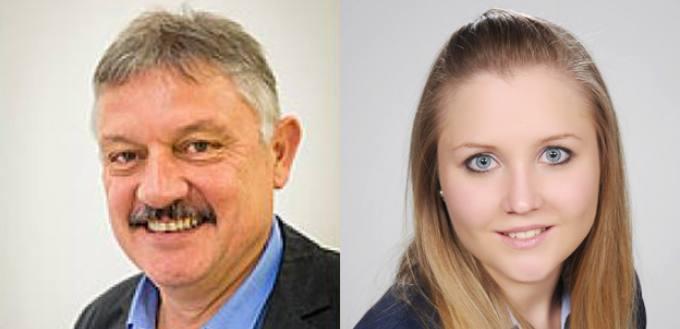 Neue Oberrichter: Erwin Ganz, Janine Lanker