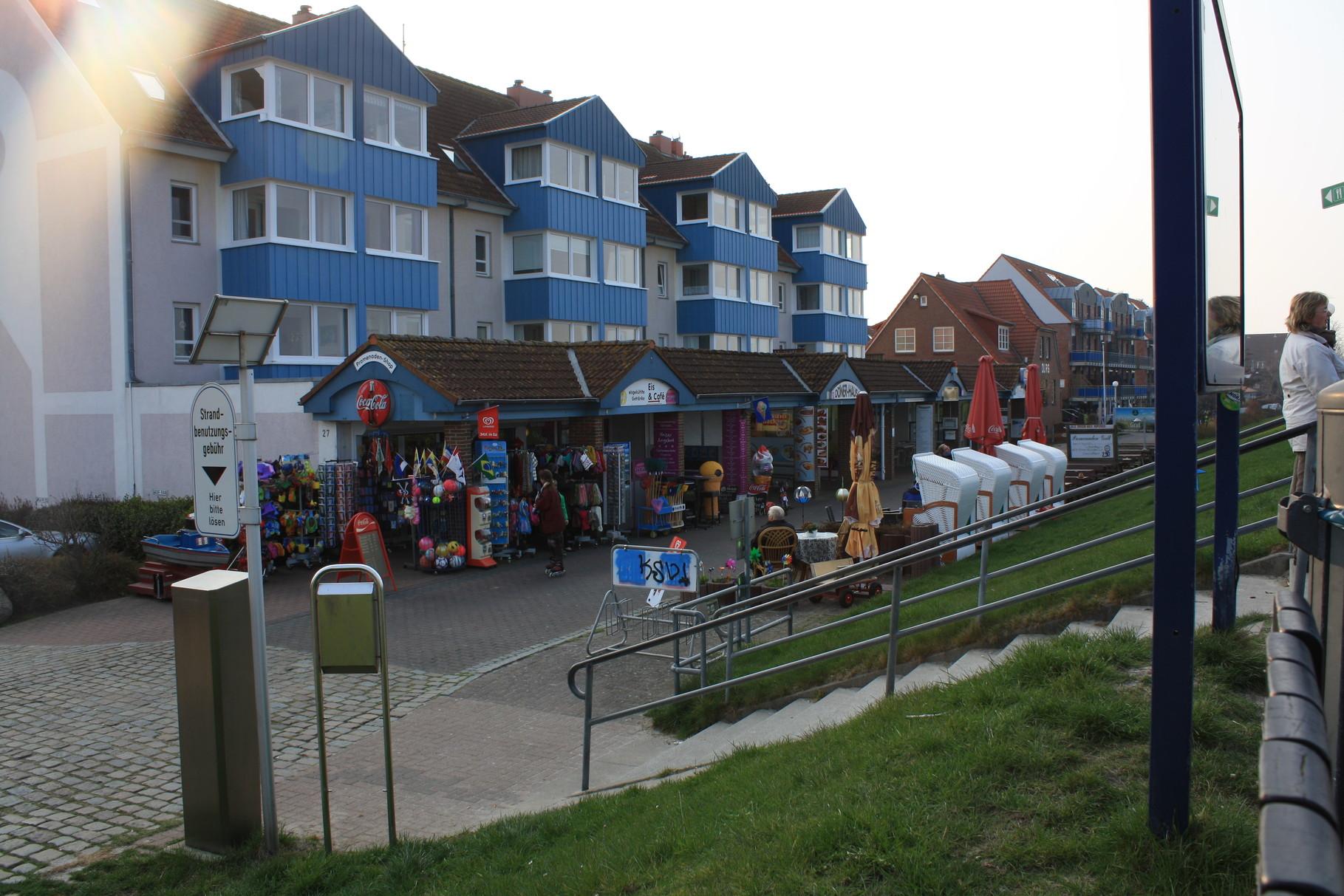 Geschäfte an der Seebrücke