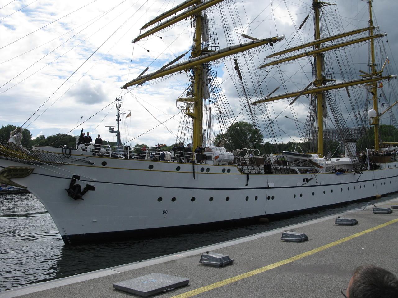 Gorch Fock Segelschulschiff der Marine