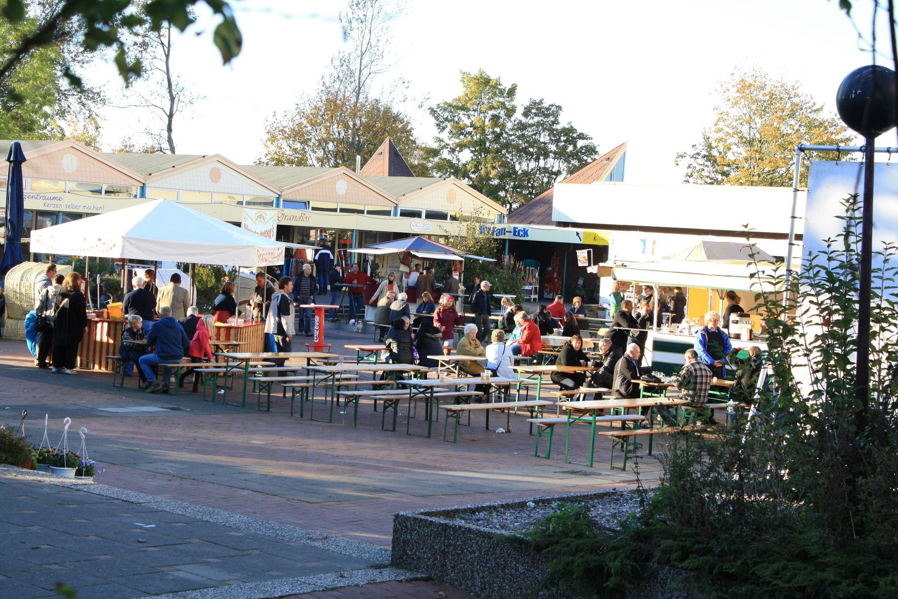 Der Holmer Marktplatz