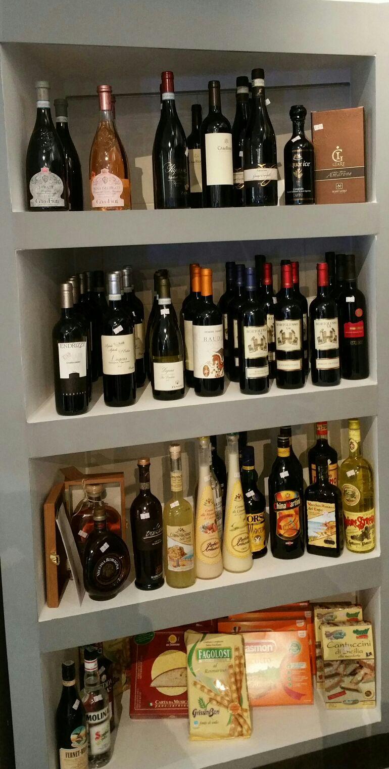 Unser Wein- und Spirituosensortiment