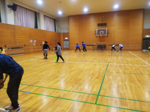 20190203札幌フロアボールカフェ
