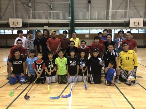20180819北海道代表候補者練習会@新得町民体育館