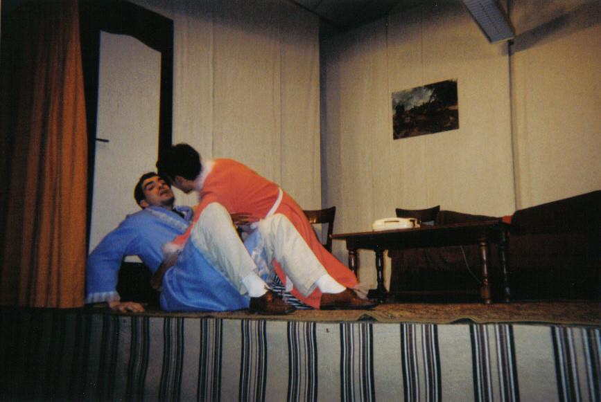 Duo sur canapé