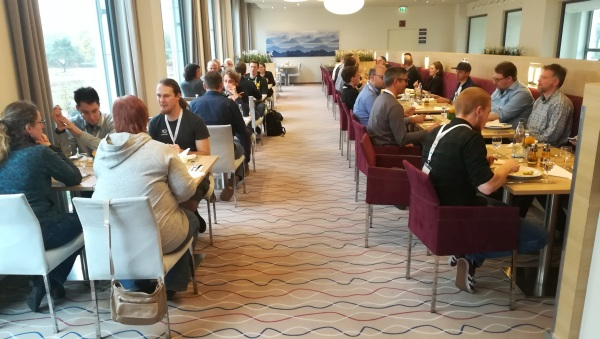 DeafIT Conference 2017: Lunch