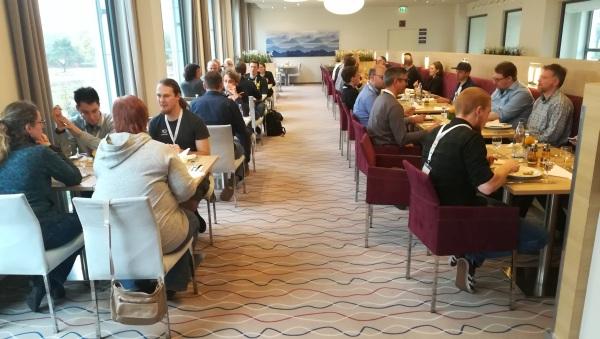 DeafIT Konferenz: Mittagessen