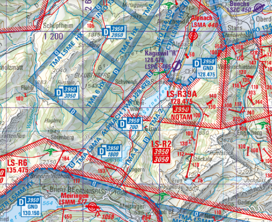 Die neue Segelflugkarte...