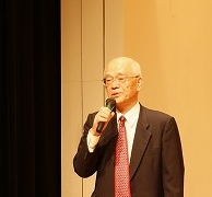 開会の言葉(9期会長笹川氏)