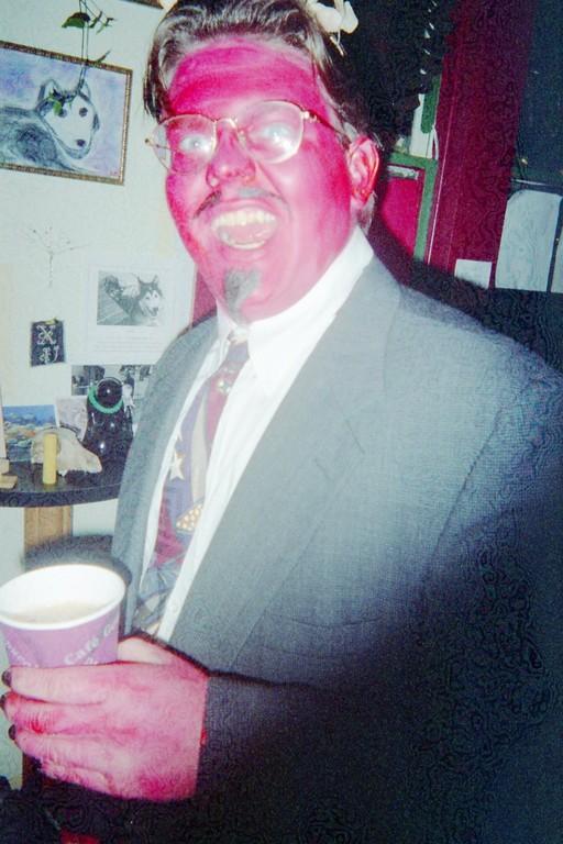 "Chris Robinson as Ken Lowe ""Satan"" Halloween 1997"