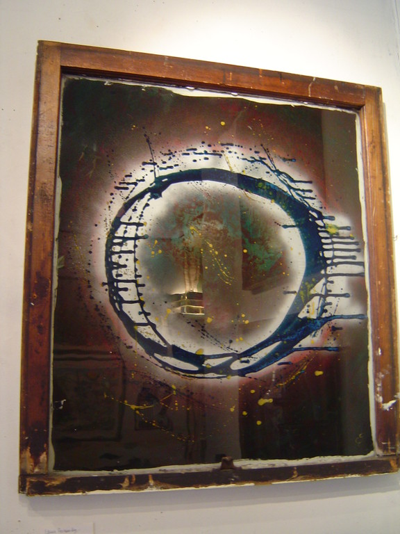 "Laura Fernandes ""Window #6 33""x35"" $190.00"