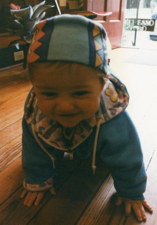 Felix at 5 months March 1997