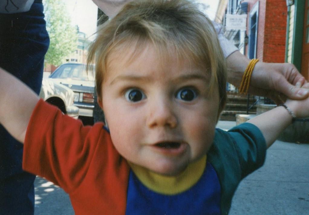 Felix at 7 months summer 1997