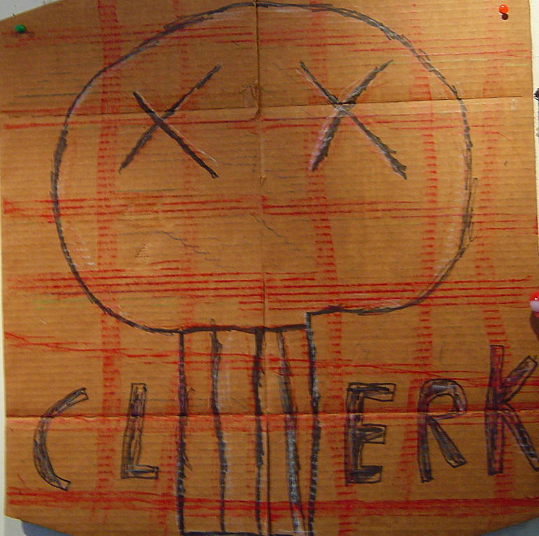 """Zane Janssen """"Clerk"""""""