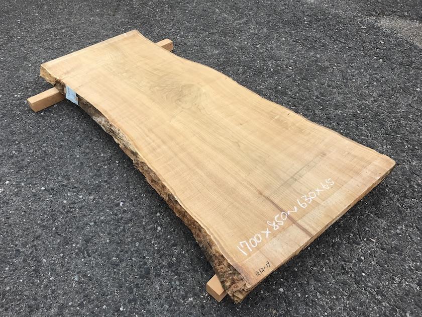 くり 一枚板 テーブル 広島