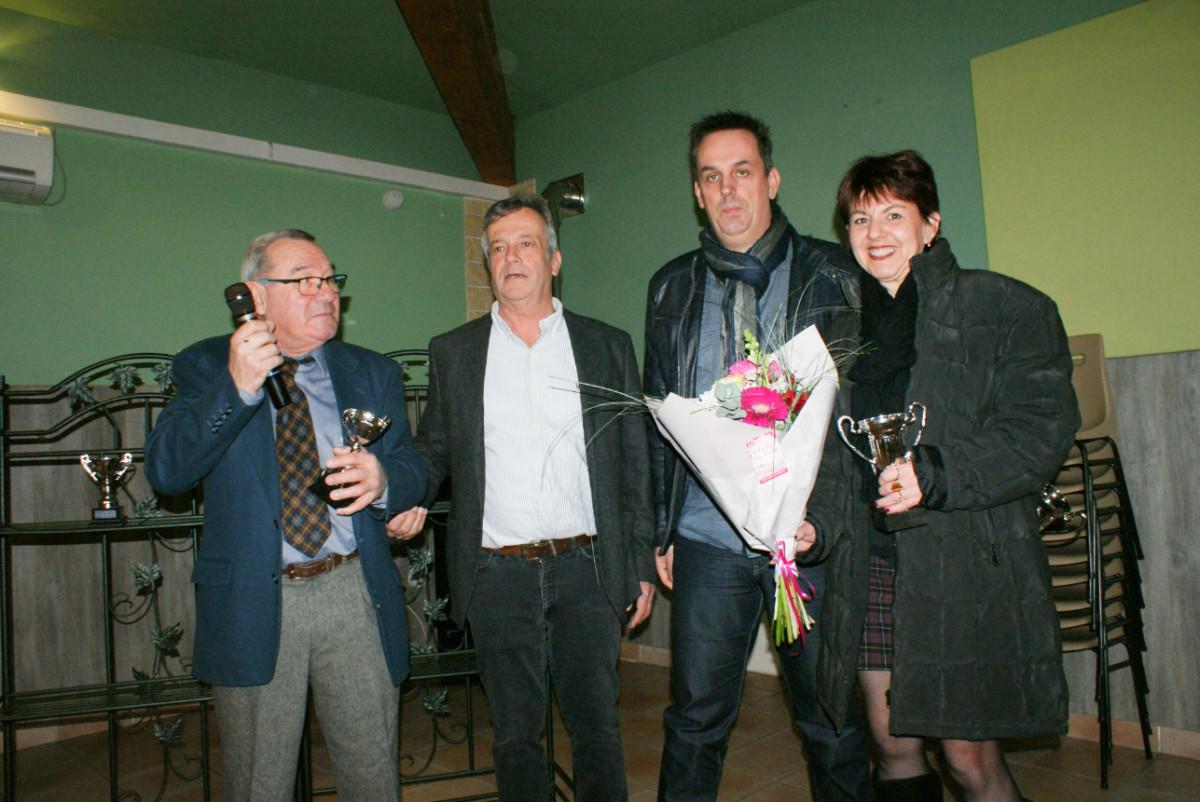 Thierry, Marc, Stéphane Goffoel et Séverine Roux.