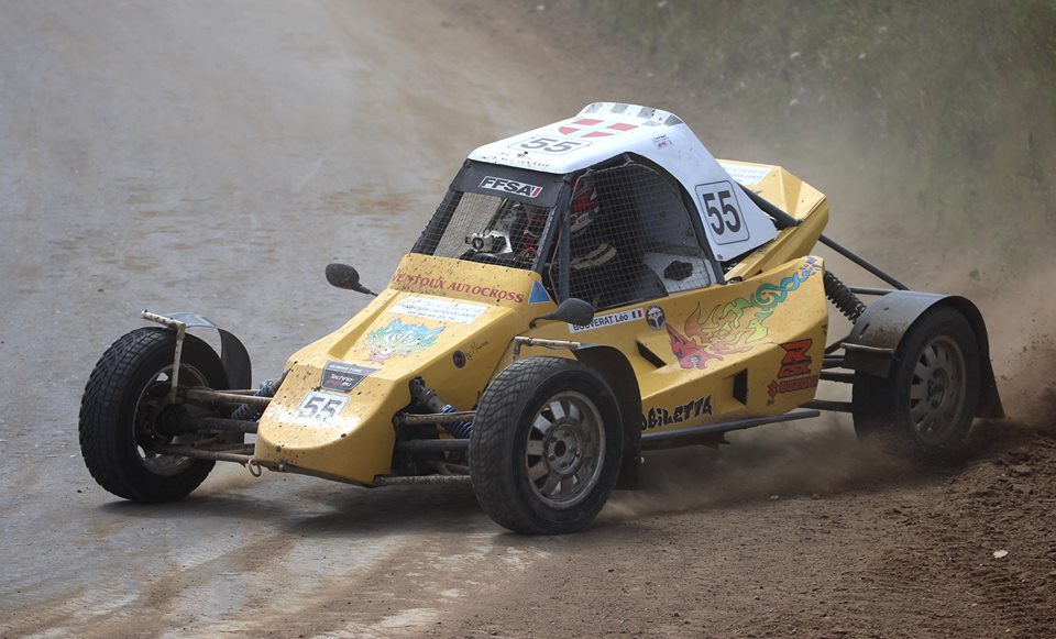 Léo BOUVERAT Auto Cross