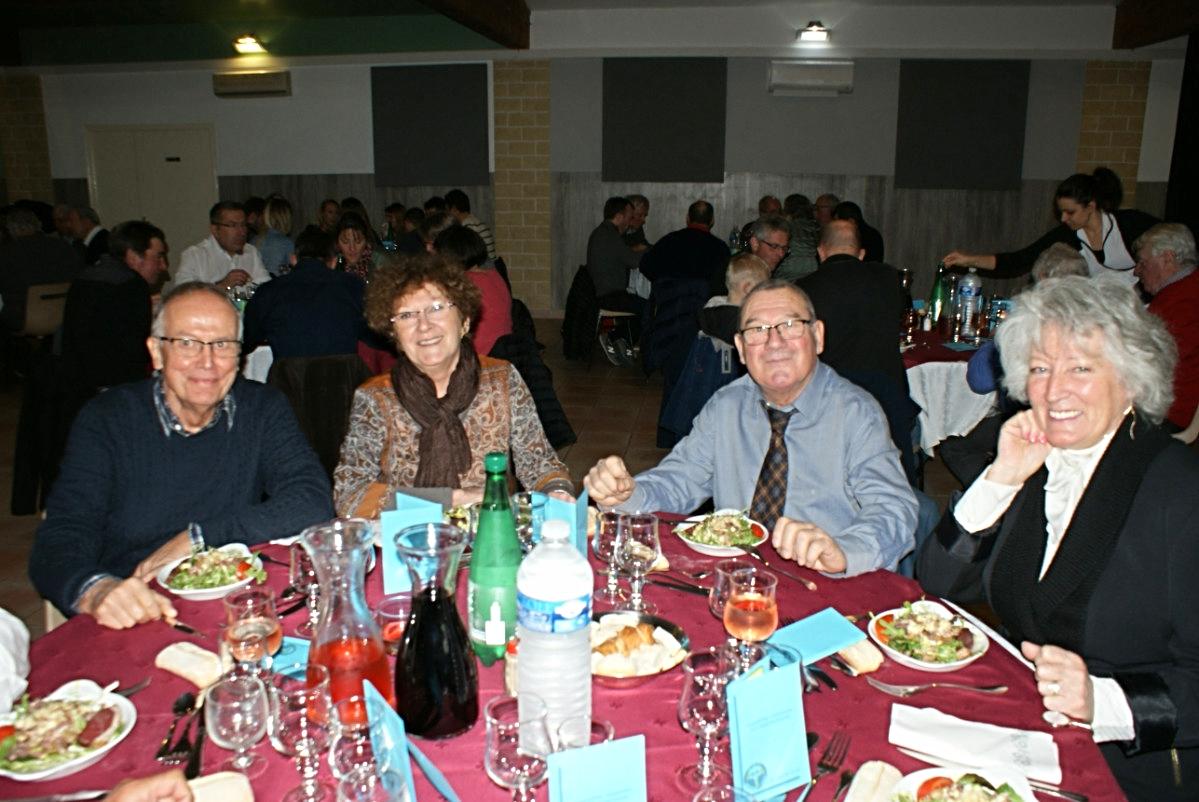 Jean-Louis, Françoise, Thierry et Nicole Saïn