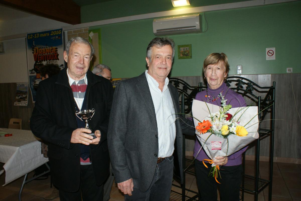 Claude Vaute, Marc Jourdan et Marie Jo Jean