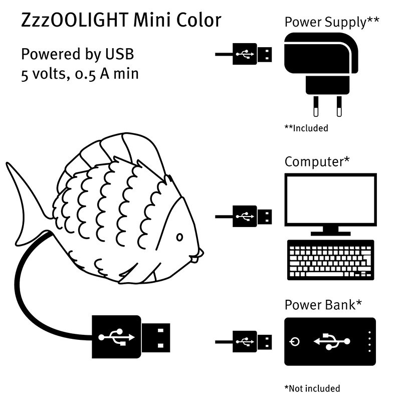 ZzzooLight Gift Mini Color Vis
