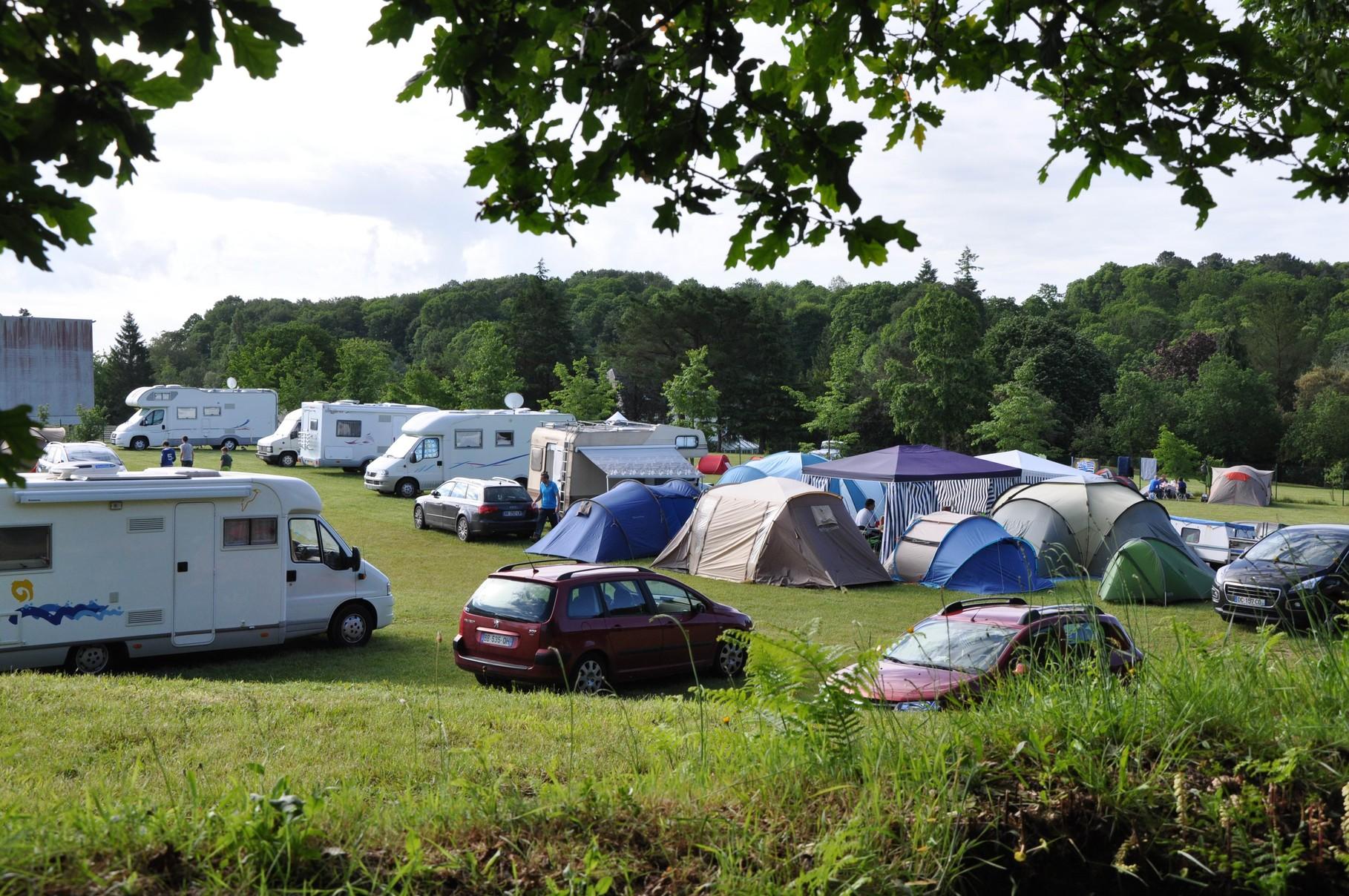 L'espace camping-cars