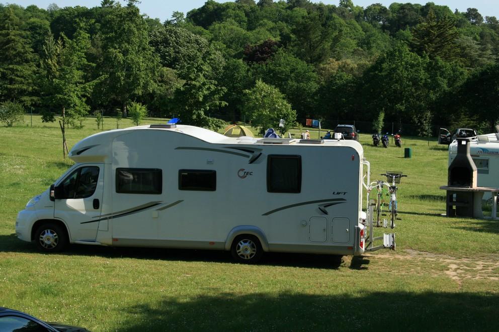 L'espace camping-car