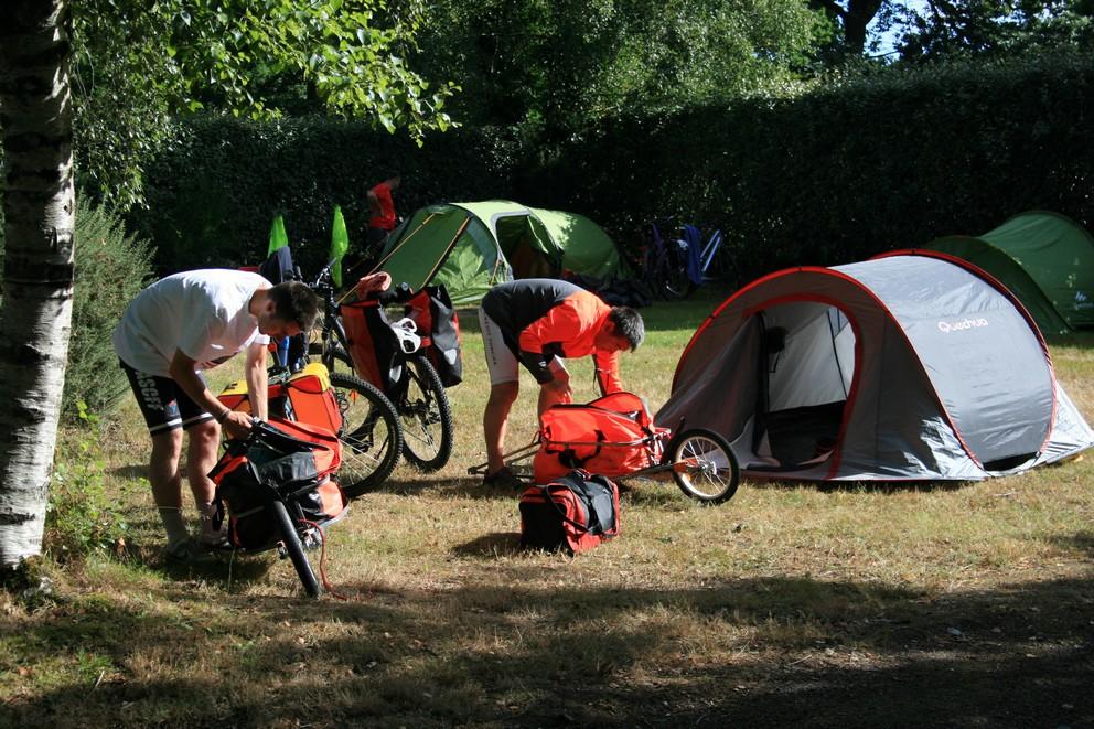 Le camping du Point de vue est une étape incontournable sur la Vélodyssée !!!