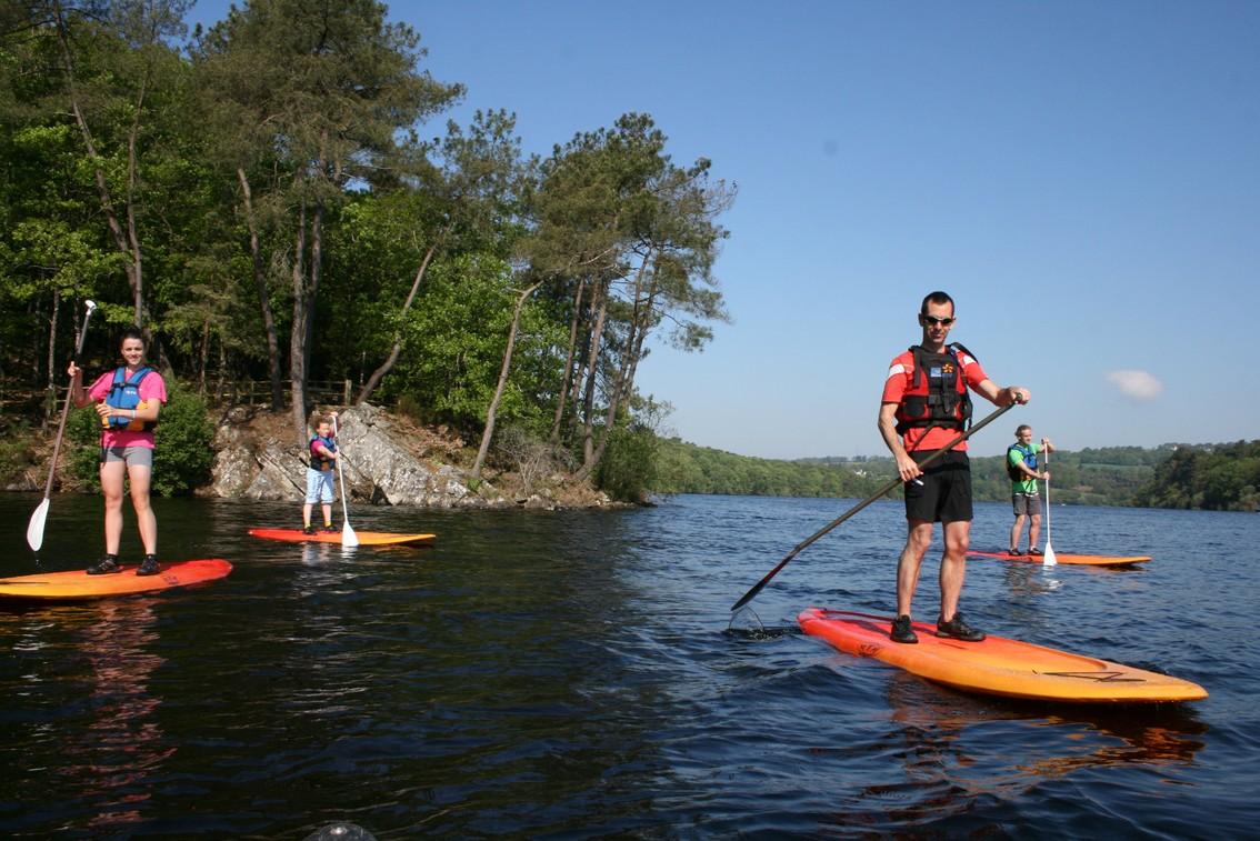 Paddle sur le lac de Guerlédan