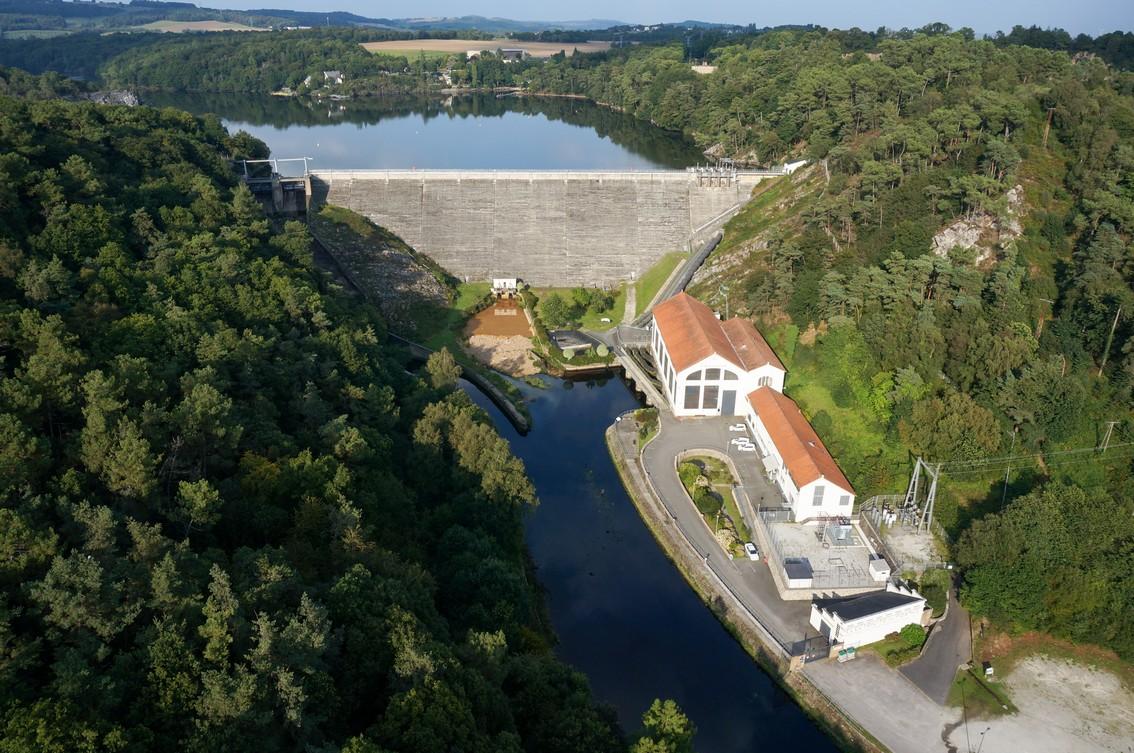 Barrage hydroélectrique de Guerlédan