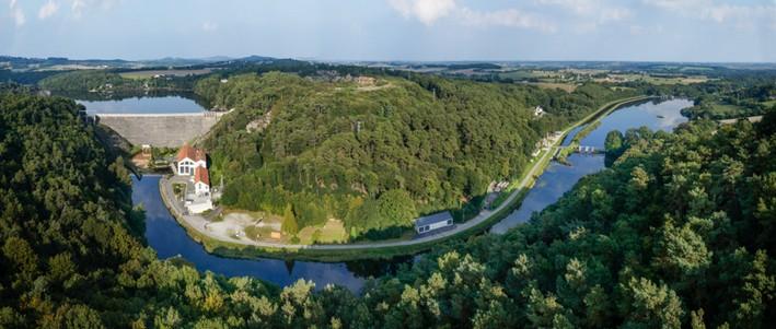 Vallée du Bavet et canal de Nantes à Brest