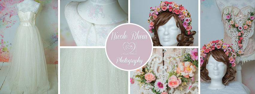 Langes Chi Chi London Brautkleid, Frühlings Headpiece mit Kragen und Korsage