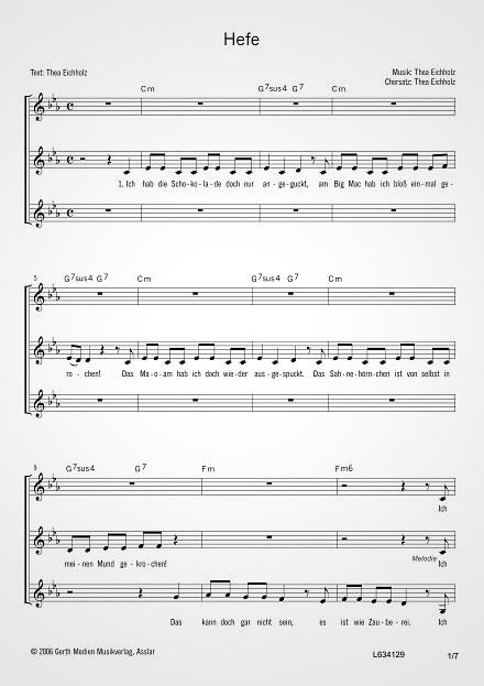 in jeder frau steckt ein stück hefe songtext