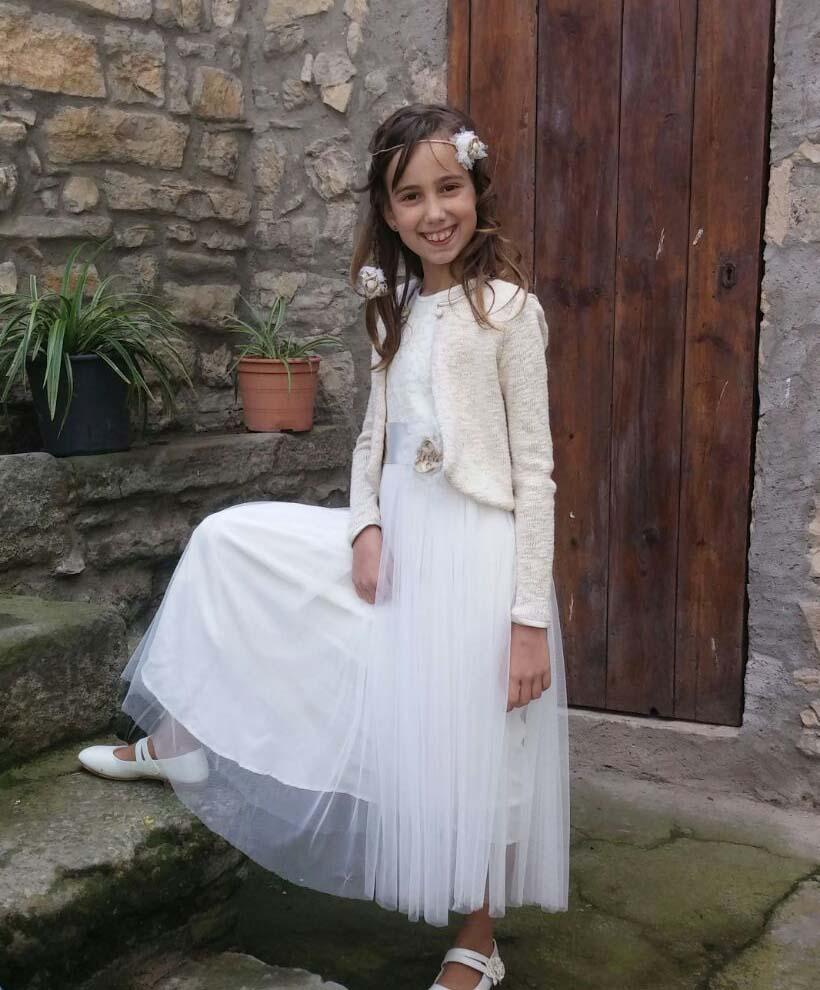 Vestit: l'Armari d'Eco. Model: Àngela. Fotografia: Maite Gargante