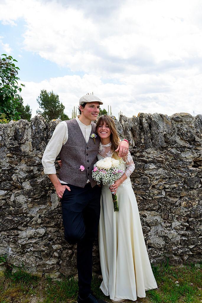 Vestit de núvia: l'Armari d'Eco. Model: Laura Verbon