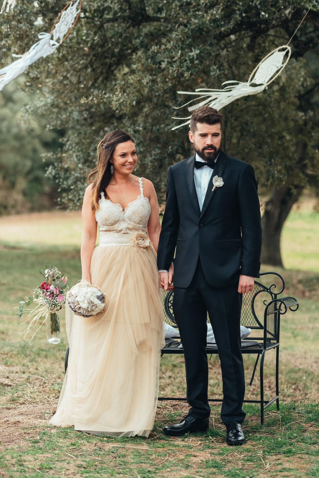 Vestit de núvia: l'Armari d'Eco/ Model: Elia Subirana