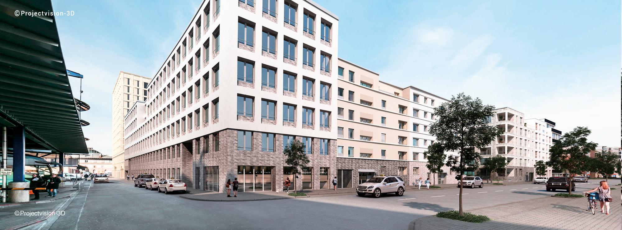 Neue Büroräume im Kepler-Quartier direkt am Mannheimer Hauptbahnhof